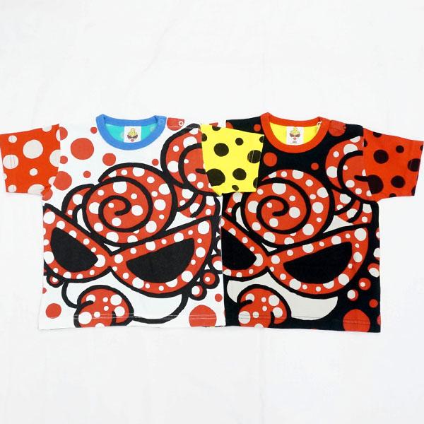 【2018春夏  HYSTERIC MINI】ヒステリックミニ ミニハプニングクレージーパターン半袖Tシャツ(80・90cm)