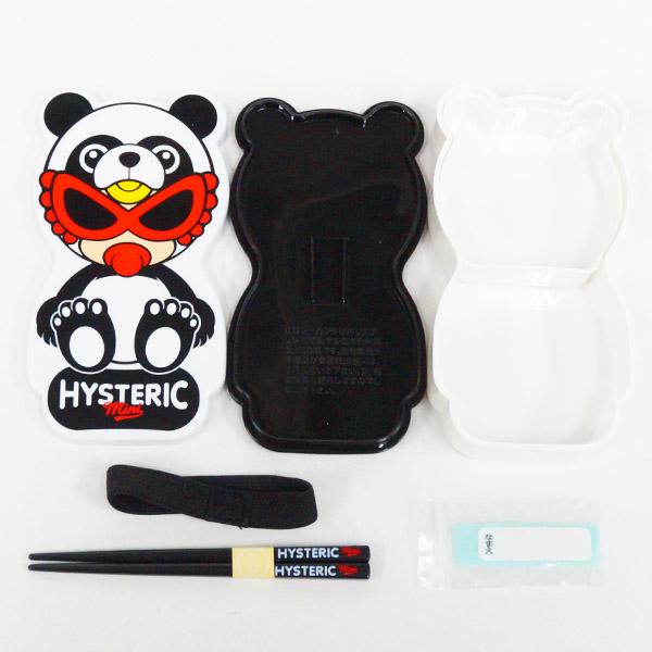 【2019春夏  HYSTERIC MINI】 ヒステリックミニ  PANDA MINI 一段ランチボックス