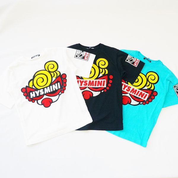 【2019春夏  HYSTERIC MINI】ヒステリックミニGALLERY LA UZコンパクト半袖BIGTシャツ(100-120cm)