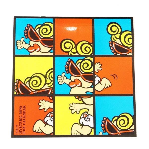 【2016秋冬 HYSTERIC MINI  ウィンターフェアー】ヒステリックミニ  壁掛けカレンダー(ノベルティー)