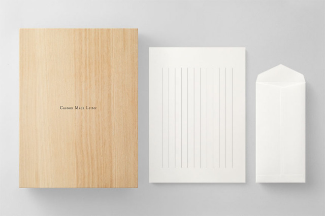 PAPER A011 便箋・封筒セット 箱つき(縦書き用)
