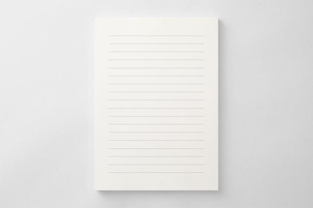 PAPER A011 便箋(横書き用)