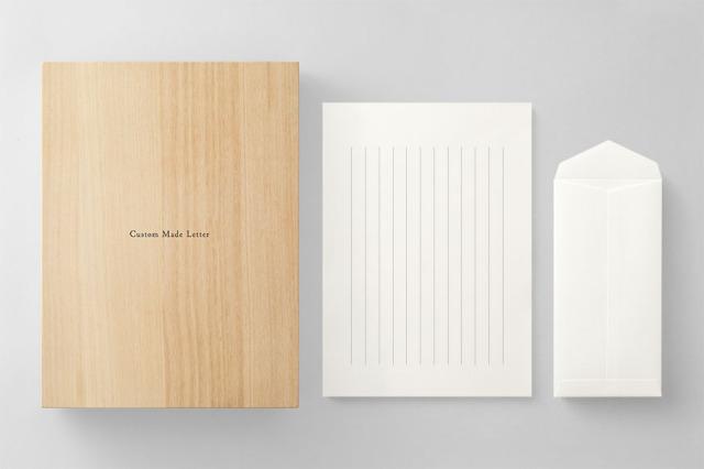 PAPER A013 便箋・封筒セット 箱つき(縦書き用)