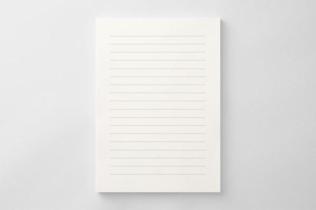 PAPER A013 便箋(横書き用)