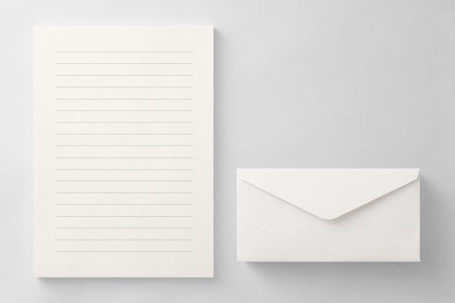 PAPER B011 便箋・封筒セット(横書き用)