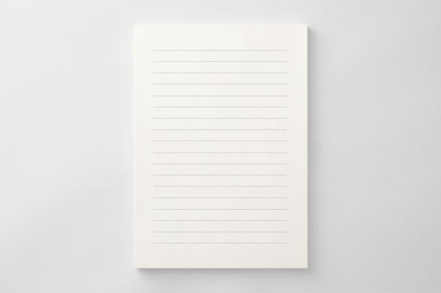 PAPER B011 便箋(横書き用)