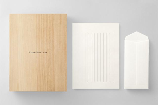 PAPER B012 便箋・封筒セット 箱つき(縦書き用)