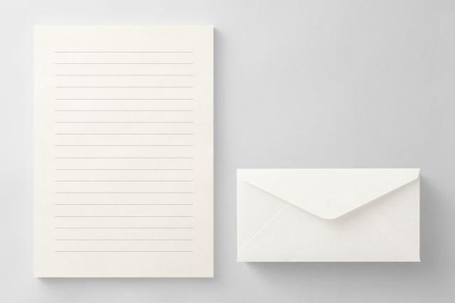 PAPER B012 便箋・封筒セット(横書き用)