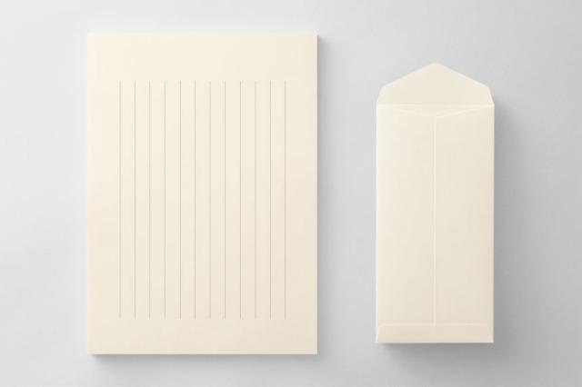 PAPER B013 便箋・封筒セット(縦書き用)