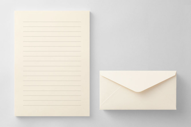 PAPER B013 便箋・封筒セット(横書き用)