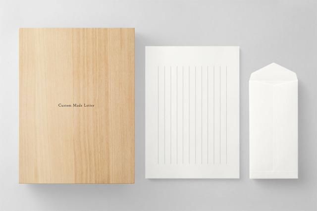 PAPER C011 便箋・封筒セット 箱つき(縦書き用)