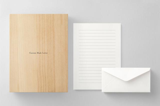 PAPER C011 便箋・封筒セット 箱つき(横書き用)