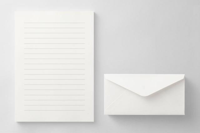 PAPER C011 便箋・封筒セット(横書き用)
