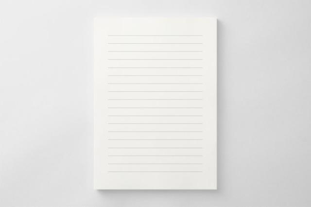 PAPER C011 便箋(横書き用)
