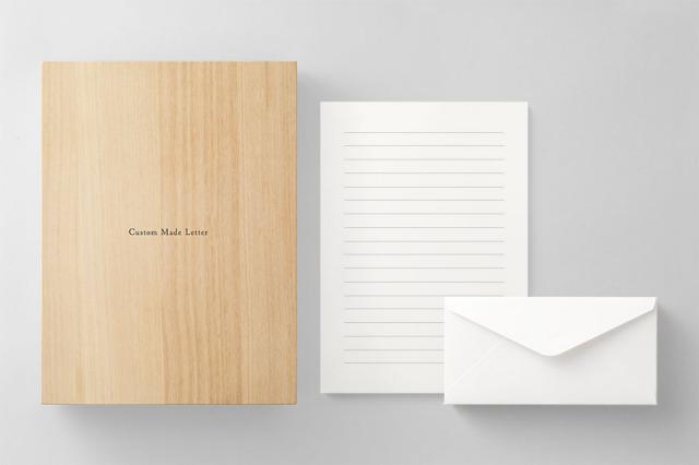 PAPER C012 便箋・封筒セット 箱つき(横書き用)