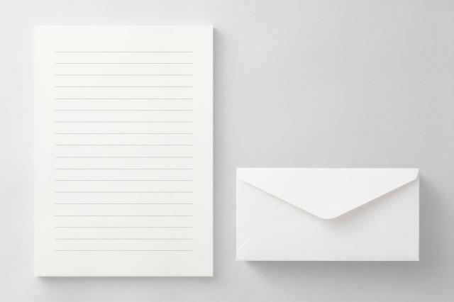 PAPER C012 便箋・封筒セット(横書き用)