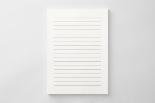 PAPER C012 便箋(横書き用)