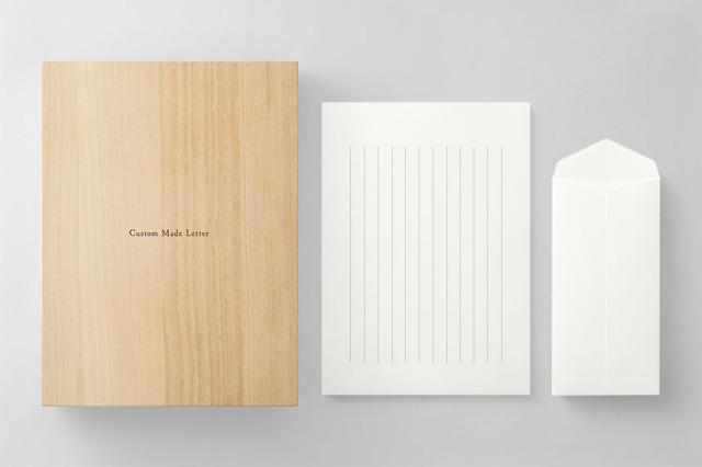 PAPER C013 便箋・封筒セット 箱つき(縦書き用)