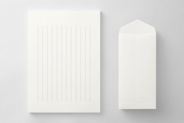 PAPER C013 便箋・封筒セット(縦書き用)