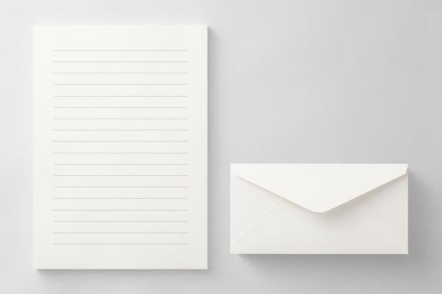 PAPER C013 便箋・封筒セット(横書き用)