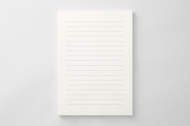 PAPER C013 便箋(横書き用)
