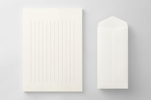 PAPER C014 便箋・封筒セット(縦書き用)