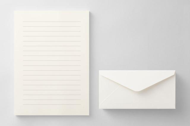 PAPER C014 便箋・封筒セット(横書き用)