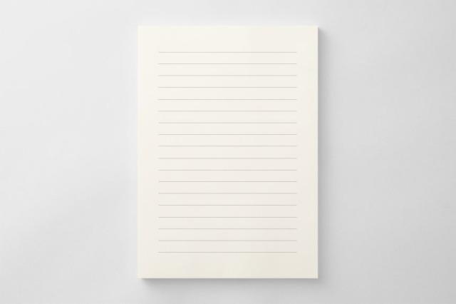 PAPER C014 便箋(横書き用)