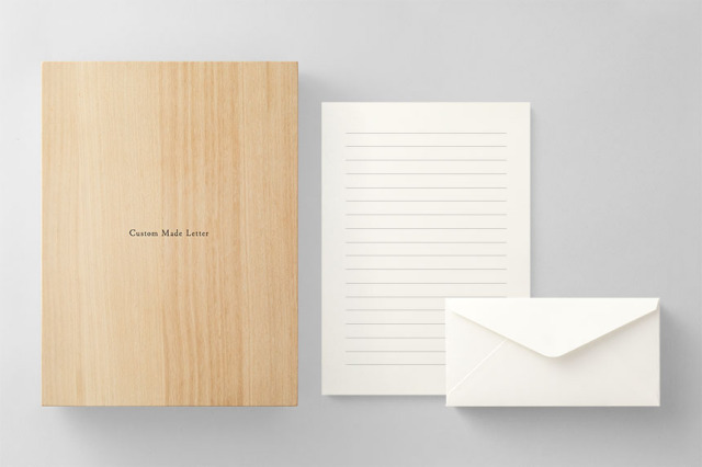 PAPER D011 便箋・封筒セット 箱つき(横書き用)