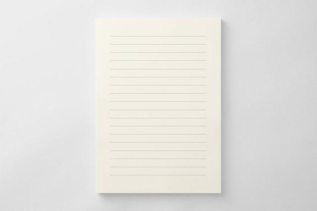PAPER D012 便箋(横書き用)