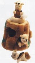ハイド・ア・スクォール(リス) puzzle toy