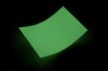 【スーパー夜光テープ】A4サイズ(210mm×297mm)