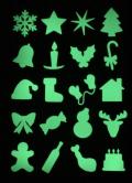 【遊べるかたちシート】 クリスマス B6サイズ(128mm×182mm)
