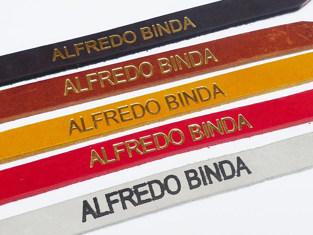 ALFREDO BINDA 復刻版トーストラップ