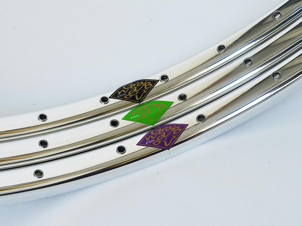 グランボア リム パピヨン 650B ダブルアイレット