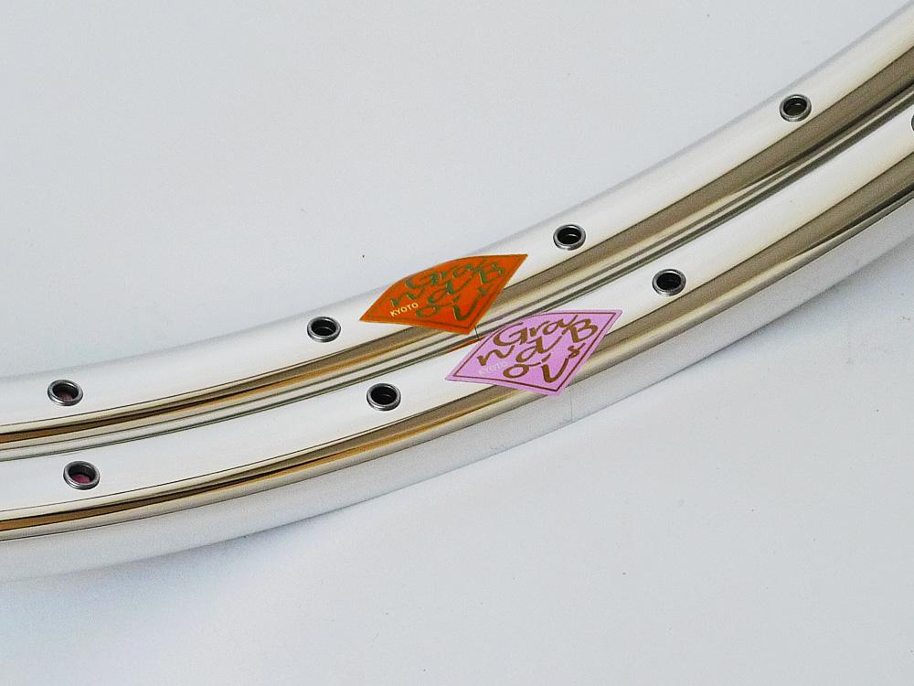 グランボア リム パピヨン 700C ダブルアイレット
