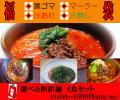 福袋 【送料無料】選べる担担麺6食入り