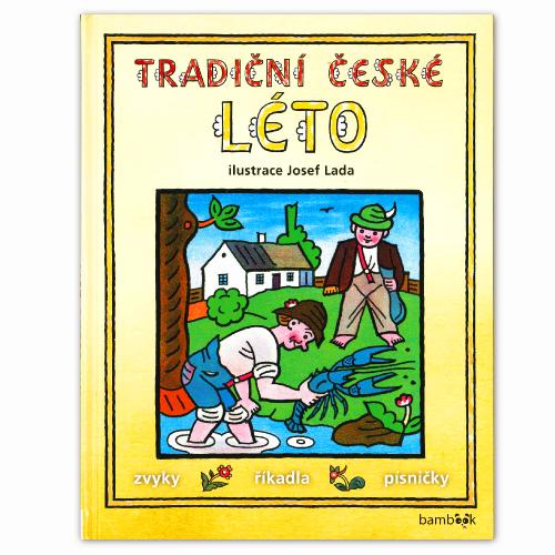 ヨゼフ・ラダのチェコ語絵本 「チェコの夏」TRADICNI CESKE LETO