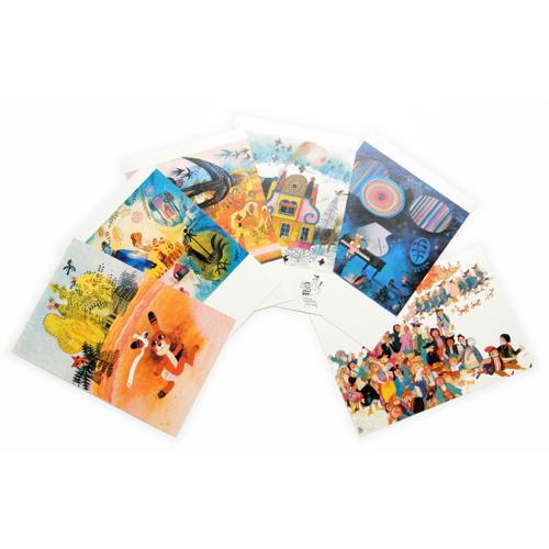 パレチェクのポストカード(6枚セット)