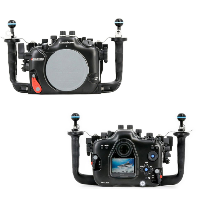 ミラーレス一眼レフカメラ防水ケース(SONY α9 II/α7R IV対応)α2020ハウジング