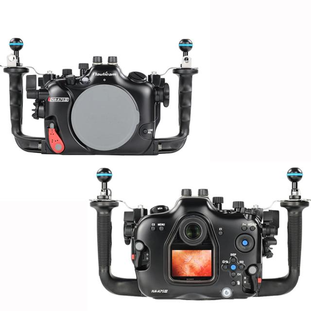 ミラーレス一眼レフカメラ防水ケース(SONY α7S III対応)A7S IIIハウジング