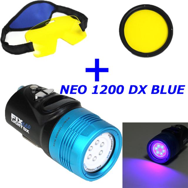 Fisheye(フィッシュアイ)FIX NEO1200DX BLUE