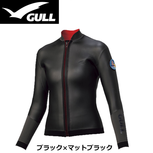 GULL(ガル)3mmSKINタッパー ウィメンズGW-6637