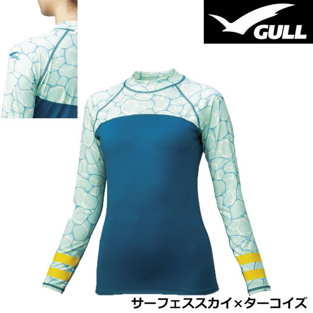 GULL(ガル)ラッシュガードロング  ウィメンズGW-6654