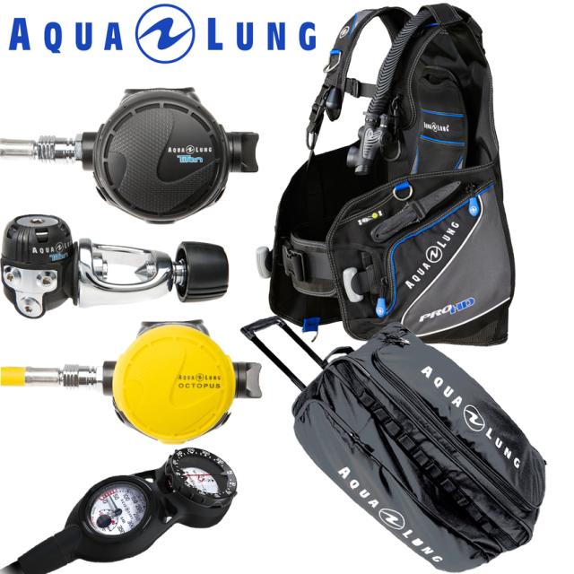 ダイビング重器材セットAQUALUNG(アクアラング)セット