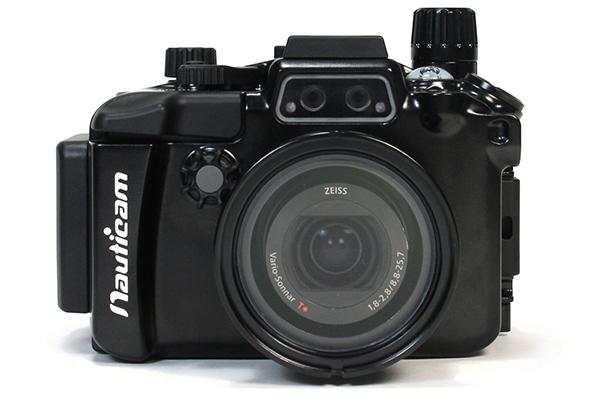デジタルカメラ防水ケース(Sony DSC-RX100M5専用)Nauticam(ノーティカム)RX100V