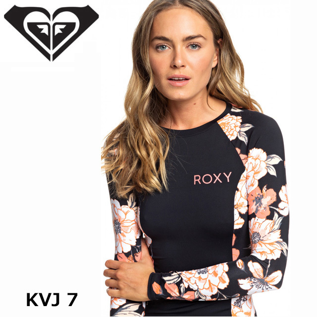 ROXY(ロキシー)ラッシュガードロングPRINTED LS LYCRA  GRJWR03019【人気・おすすめ】