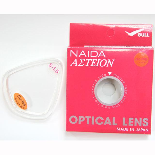 近視用レンズ GULL(ガル)ネイダノーフォグオプチカルGM-1622右左1セット分