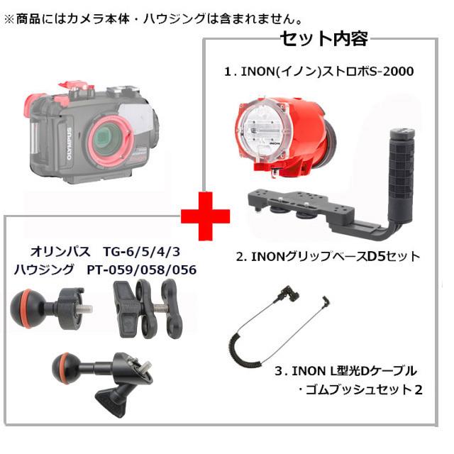 INON(イノン)S-2000ストロボ グリップベースD5ダイレクトアームZ-MVセット【おすすめセット】