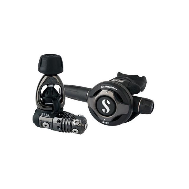 SCUBAPRO(スキューバプロ)レギュレーター MK25/S600 BLACK TECH